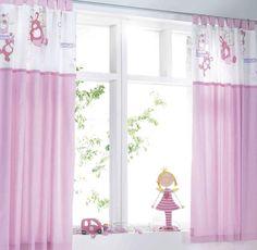 grey Modern Bedroom Curtain Decoration