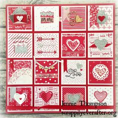 Stampin' Up!, Balentines, Sealed with Love, Love Note Framelits and Sending Love DSP Valentine Day Love, Valentine Crafts, Valentine Day Cards, Handmade Greetings, Greeting Cards Handmade, Happy Hearts Day, Stampin Up Catalog, Scrapbook Cards, Scrapbooking Ideas