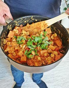 Ruokakonttuuri: Bataatti-tofupannu