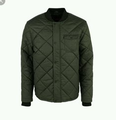 a88ed2ca7781f SOVIET Mens Grey Quilted Bomber Jacket Coat Small S BNWT  fashion  clothing   shoes