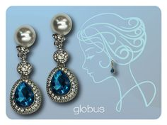 Must have!Crystal drop earrings.
