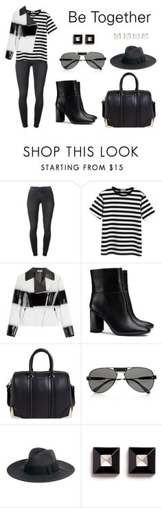 """Be Together"" by anaelle2 ❤ liked on Polyvore featuring 7 For All Mankind, Chicnova Fashion, Fendi, Tory Burch, Givenchy, Chloé, Catarzi and Maison Margiela"