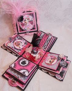 Besties Explosion Box by Rina Meyers.... see all the photos in her post