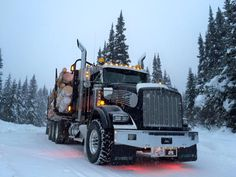 Keep on Truckin' — hueyhirsute:   JF Logging - killer trucks