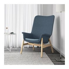 IKEA offers everything from living room furniture to mattresses and bedroom furniture so that you can design your life at home. Check out our furniture and home furnishings! Ikea Armchair, Sofa Chair, Swivel Chair, Ikea Chairs, Room Chairs, High Back Armchair, Patterned Armchair, Shabby Chic Table And Chairs, Fabric Armchairs