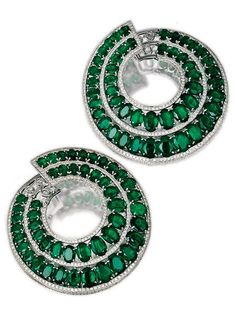 http://rubies.work/0003-contentdays-return-refunds/ Antique Emerald and Diamond earrings Circa 1920s http://glamourstone.net/