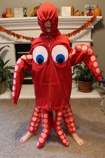 Our No-Sew DIY Hank the Septopus (not Octopus) Costume