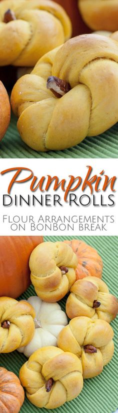 This spiced pumpkin dinner roll recipe will be a hit at your Thanksgiving, Halloween or Fall dinner table or party. If you need to eat bread, make it fancy!