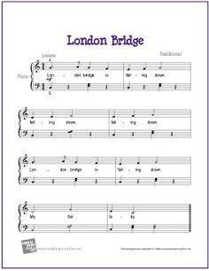 London Bridge | Free Sheet Music for Piano