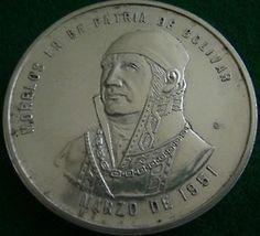 MORELOS - CARACAS MEDAL 1951