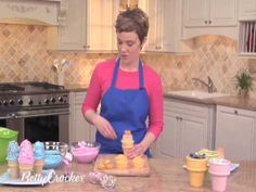 Video of How To Make Cupcakes In Ice Cream Cones - Ice Cream Cone Cupcakes
