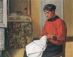 Félix Edouard Vallotton (Swiss artist, 1865-1925) The Sewer