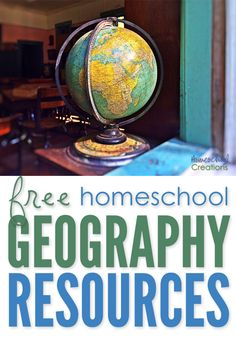 If you are looking for free geography printables to go along with your homeschool studies, below you'll find several notebooking pages you can use in your home.  Click on one of the globe to search for geography resources by continent. Each page has downloads for flag coloring and information