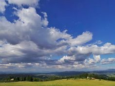 sky and clouds over Tuscany and umbria