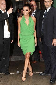 Eva Longoria green dress
