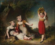 William Owen (British, 1769–1825). The Grandchildren of Sir William Heathcote, 3rd Baronet. The Metropolitan Museum of Art, New York. Gift of Heathcote Art Foundation, 1986 (1986.264.4)