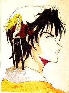 CAZADOR DE VAMPIROS: Ilustración de Varios Personajes por PASCUAL | PASCUAL: Mis Dibujos de Anime Manga