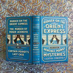 "4,072 Likes, 76 Comments - Bluestocking Bookshelf | Jen (@bluestockingbookshelf) on Instagram: ""Do you enjoy murder mysteries? ❄️ I saw Murder on the Orient Express yesterday, and enjoyed it…"""