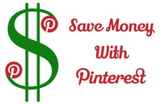 Save Money With Pinterest!!