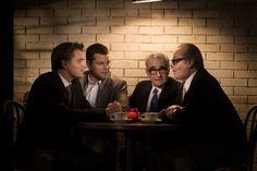 Leonardo DiCaprio, Matt Damon, Martin Scorsese and Jack Nicholson Photographed by Greg Williams