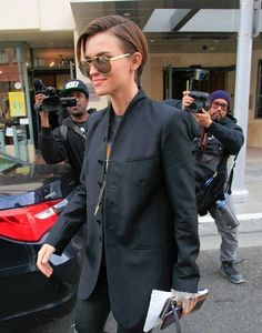 Ruby Rose Street Style