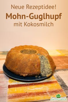 I can hardly wait until I can cut the freshly baked cake. I want to know if I succeeded. This poppy seed and coconut ring cake is very tasty. I have already put the recipe online for you. Egg Recipes For Breakfast, Healthy Breakfast Recipes, Easy Cake Recipes, Paleo Recipes, Sweet Bakery, New Cake, Strawberry Recipes, Recipe For 4, Paleo Dessert