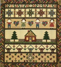 Robert's Mystery Quilt Sampler Quilt Pattern Pieced/Applique RC Parts 1-6 Comple
