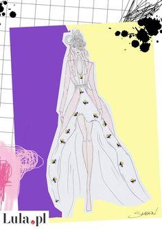 Projekt sukni ślubnej dla Mariny Łuczenko - Ewa Szabatin