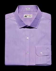 """THIS. Is my man!!!!!   YOU HAD THE BALLS TO WEAR PINK. NOW PRACTICE SAYING, """"IT'S ACTUALLY LAVENDER.""""  Want to know the cheapest way to revive a tired suit? Buy a lavender dress shirt. It'll give your grays and navies an instant lift"""