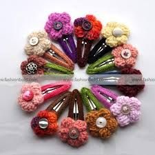 bobby pins and crochet - Buscar con Google Crochet Hair Clips, Crochet Hair Styles, Lana, Bobby Pins, Hair Accessories, Google, Crocheting, Hairpin, Hair Accessory