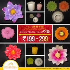 Looking For Navratri Sale 2015 ???  Call Us: 08879651091 / 92 / 93  Click here: http://www.candlemould.com/index.php…  Visit Us: www.candlemould.com  #Niralindustries #celebrations #Discounts #products #NavratriOffer #SiliconeMoulds #Moulds #BuyNow #Hurry