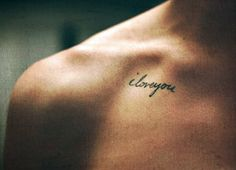 Great couple tattoo. In you're spouse hand writing.