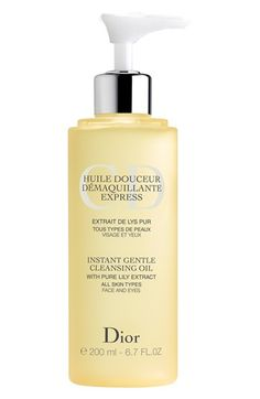 Dior Instant Gentle Cleansing Oil available at #Nordstrom