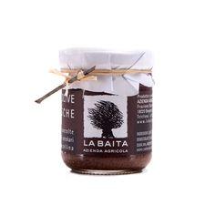 #Patè di #Olive #Taggiasche #La #Baita. Il patè di #olive #taggiasche dell'Azienda #Agricola #La #Baita & #Galleano è preparato con olive di #cultivar #Taggiasca di montagna.  La #ricetta di questa #crema di #olive è semplice: #olive #taggiasche #denocciolate #pestate #emulsionate con #olio #extravergine di oliva #aromatizzate con #timo e #maggiorana. Il gusto del àpatè è tondo, leggermente #fruttato con sensazioni di #pinoli e #mandorle.