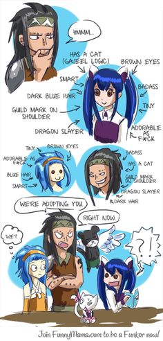 Gajeel logic (to be honest this should really happen)
