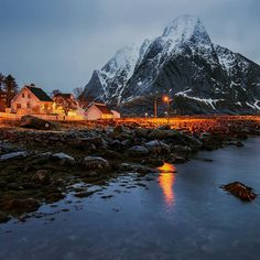 "6,851 Likes, 106 Comments - @oldkyrenian on Instagram: ""Reine Lofoten Norway"""