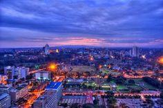 Nairobi City at night