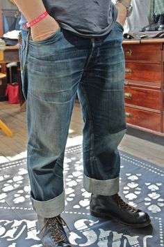 Authentically Worn In Jeans at Bread & Butter
