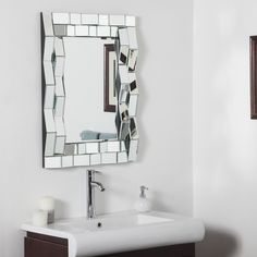 Iso Modern Bathroom Mirror | Overstock™ Shopping - Big Discounts on Mirrors