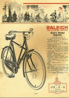 British Raleigh Bicycle Co.