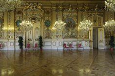 L'Hôtel de Ville de Lyon salon d'honneur