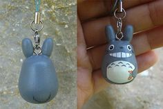 TOTORO Doll Phone strap key chain rings Studio Ghibli by cuteart