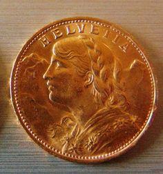 Catawiki Online-Auktionshaus: Schweiz - 20 Franken 1922 B Bern Vreneli - Gold Bern, Personalized Items