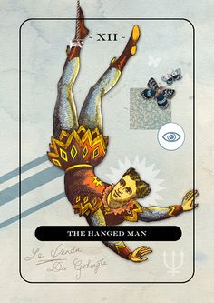 XII - The Hanged Man Tarot Card