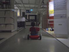 IKEA Singapore recently created a commercial based on the classic Stanley Kubrick film The Shining for Halloween. The commercial features a young boy riding a tricycle through the store similar to ...