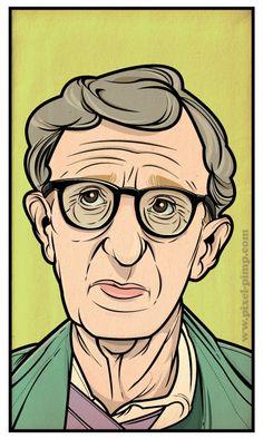 Woody Allen by Joshua Hooper