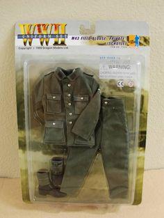 "Dragon WWII ""M43 FIELD BLOUSE PRIVATE (SCHUTZE)"" German Uniform Set #71025 NIP"