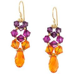 Bollywood Earrings | Fusion Beads Inspiration Gallery