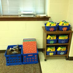 Student and group supplies Classroom Themes, First Grade, Classroom Management, Apples, Toy Chest, Storage Chest, Puzzle, Student, Teaching