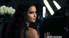 Makes me want to cry...  Q-Q  The ending is just so perfect, Katniss looking at Cinna like that... Right after, seeing him beaten and taken away, as she's going into the cornucopia, tears stinging her eyes.